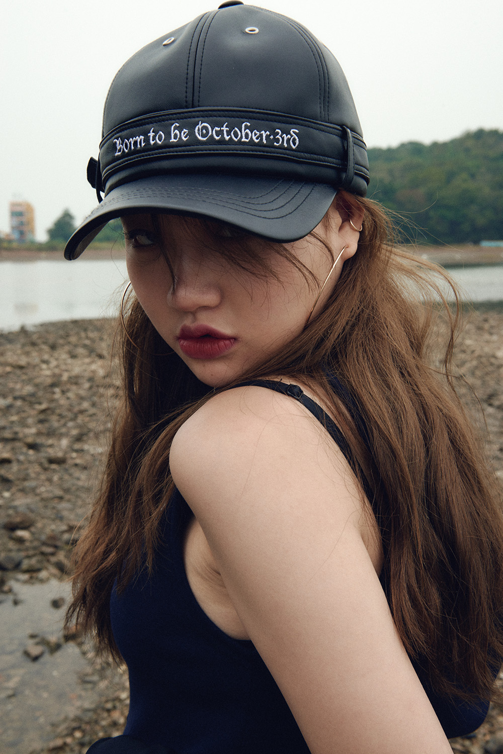 Born to be Rider Cap_Matte Black