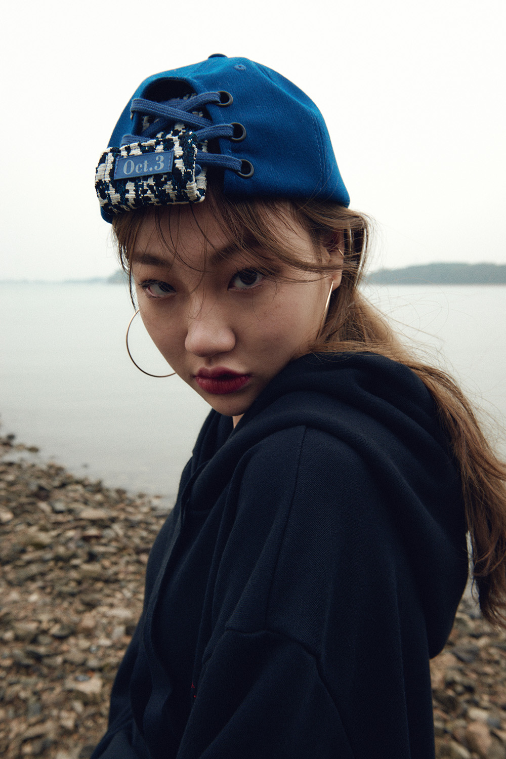 Wild Sneakers Cap_Blue
