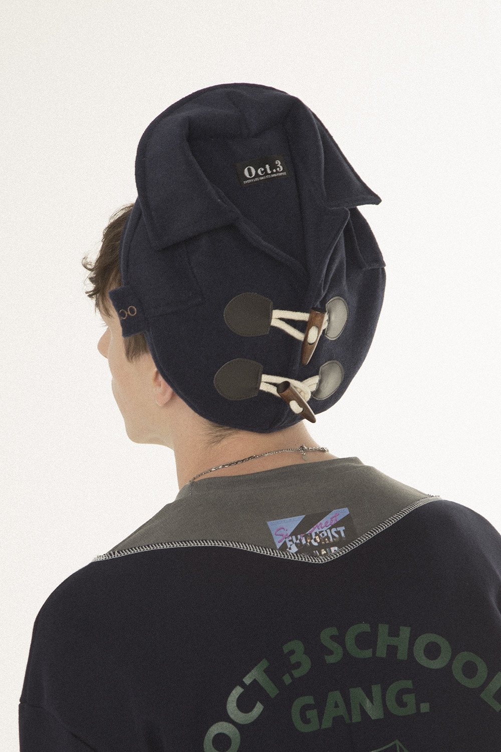 Duffle Coat Beret [Navy]